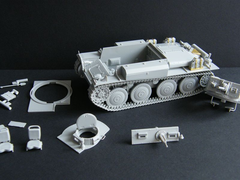bauberichte 1 35 und gr er italeri panzer 38 t ausf f. Black Bedroom Furniture Sets. Home Design Ideas