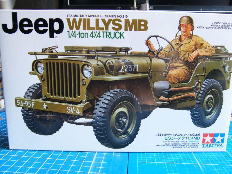 tamiya willys mb jeep mit black dog zbh. Black Bedroom Furniture Sets. Home Design Ideas