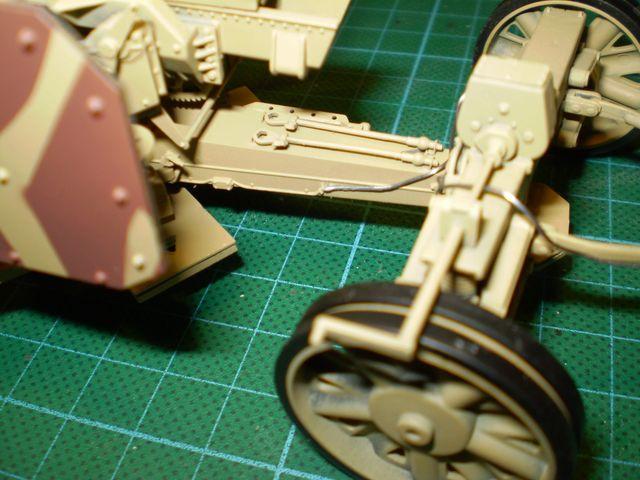 trumpeter german 12 8cm kanone 43 1 35. Black Bedroom Furniture Sets. Home Design Ideas